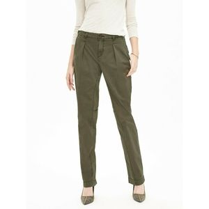 Banana Republic Pleated Boyfriend Chino Pants 00P
